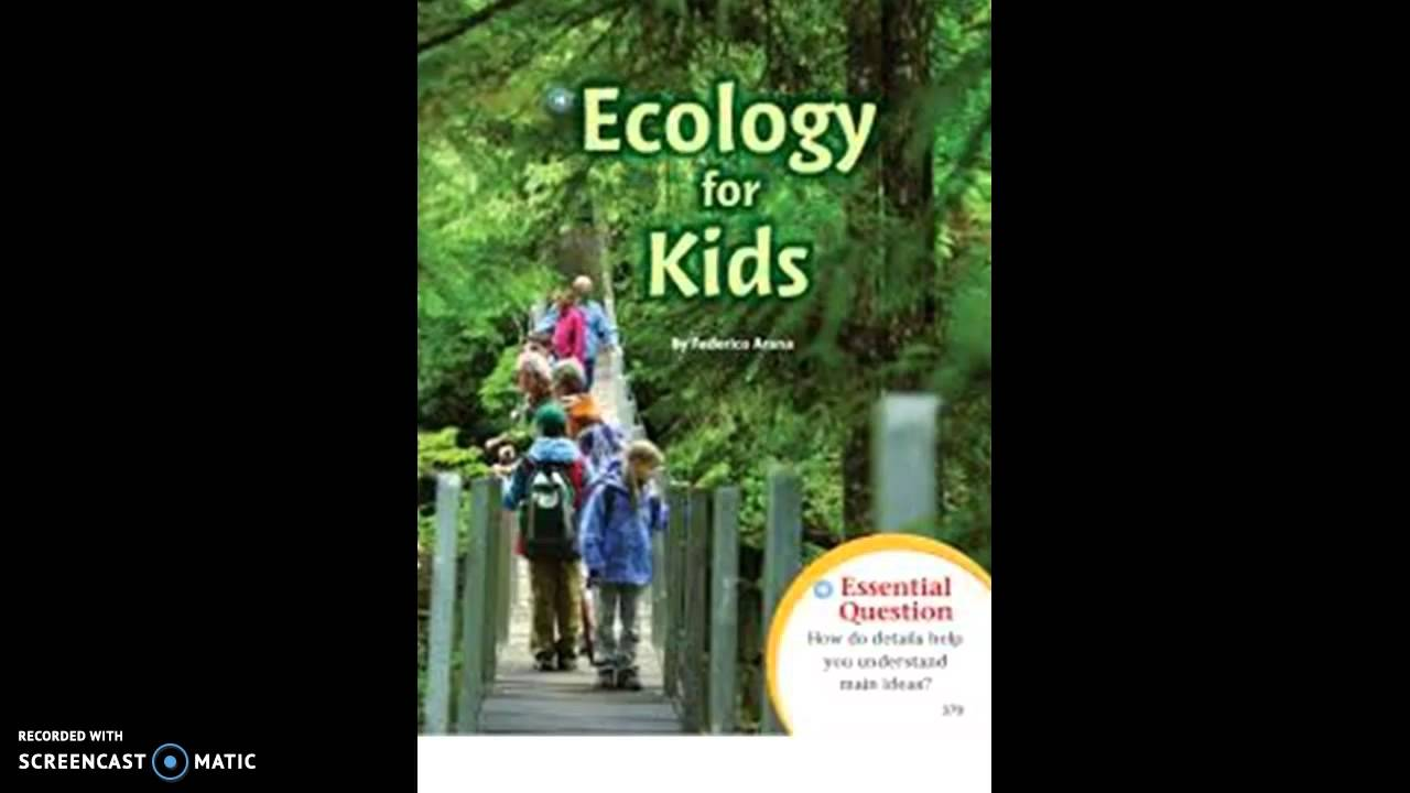 Ecology for Kids - YouTube