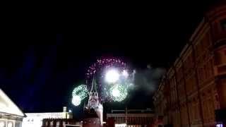Праздничный Салют 9 мая 2015 года Москва