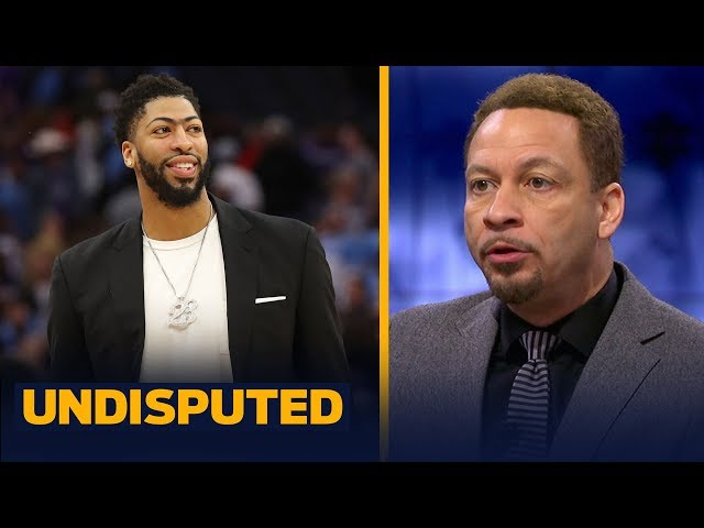 Chris Broussard believes AD will join LeBron & the Lakers: Its going to happen | NBA | UNDISPUTED