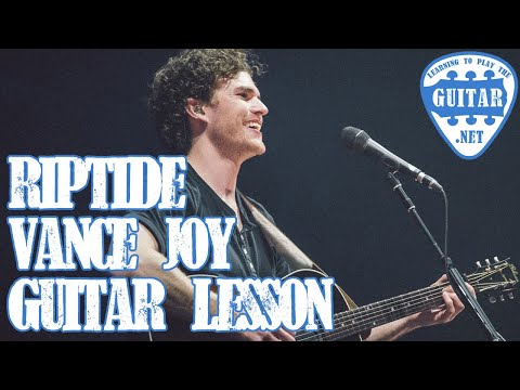 Vote No on : Riptide Easy Beginners Guitar Lesson Vance Joy -