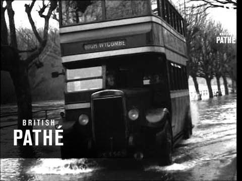 Floods In Maidenhead (1946)
