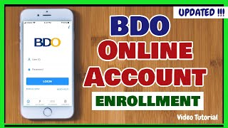 BDO Online Bank Account Enrollment 2020: How to Register to BDO Online Banking Account