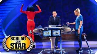 Elton konfrontiert die kandidatinnen mit behauptungen. janine und verona müssen dann innerhalb von fünf sekunden entscheiden, ob jeweilige behauptung sti...