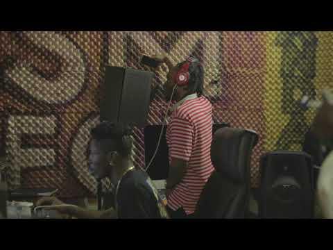 Shatta Wale & Keche recording session