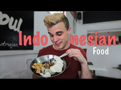 TRYING INDONESIAN CUISINE *FIRST TIMER REACTION*