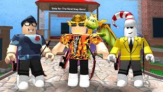 YOUTUBERS ONLY ROBLOX MM2!!