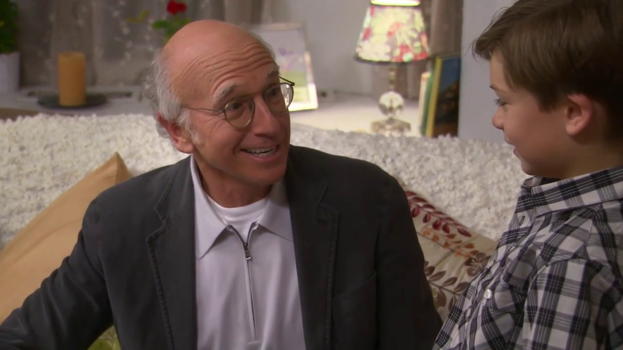 Download Larry and Flamboyant Kid Talk Nazis - Curb Your Enthusiasm