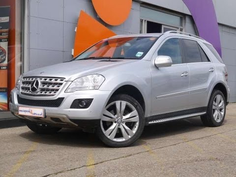 2009 Mercedes Benz Ml320 Cdi Sport 4x4 Silver For Sale In Hampshire
