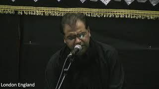 Gambar cover Aaj Ki Raat Tujhe Godi Mein   SAYYED ZAIRE NAQVI   Reciting at Yom e Samarrah 2019 London England