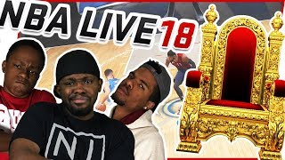 WHO WILL TAKE THE 1 ON 1 B-BALL THRONE! - NBA Live 18 Gameplay
