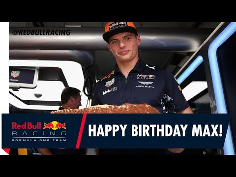 Red Bull Racing wish Max Verstappen a Happy 20th Birthday!