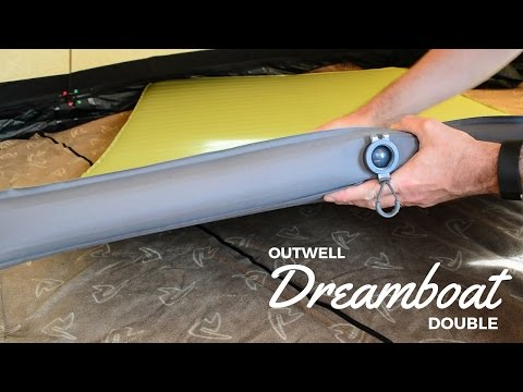 Outwell Dreamboat Double - Luxury Camping Self-Inflating Mat