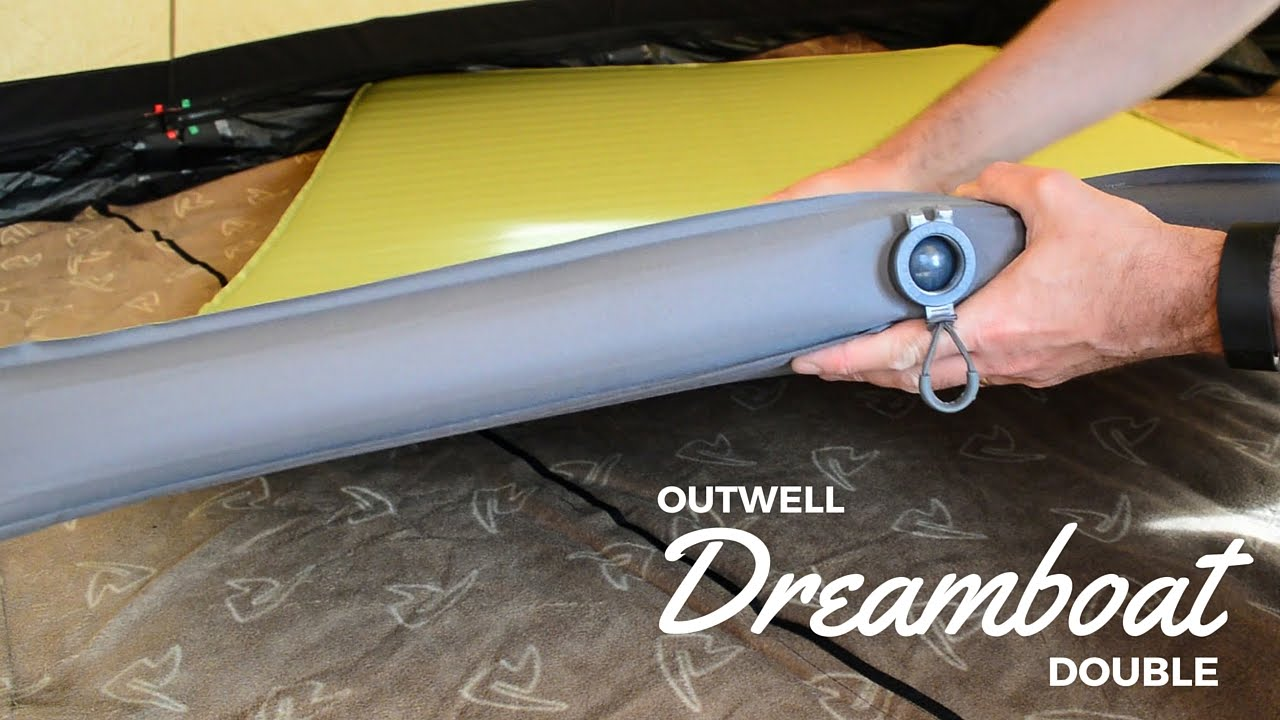 c89f57577d9 Outwell Dreamboat Double - Luxury Camping Self-Inflating Mat - YouTube