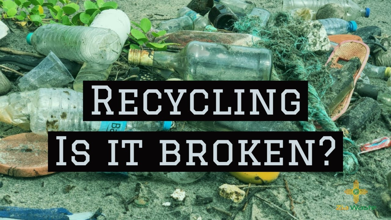 Recycling -  Is It Broken? Should you STOP Recycling?