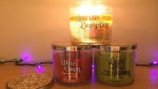 Bath & Body Works Wishes Collection Candle Review: Sparkle Everyday, Wine Down, Light up the Room Thumbnail