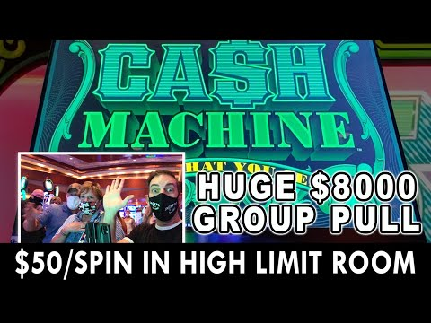 CASH MACHINE GROUP PULL FOR $8,000 AT CHOCTAW CASINO #ad