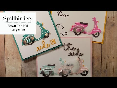Repeat 10 Cards | 1 Kit – Spellbinders May Card Kit (Part 1 of 2) by