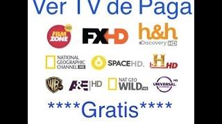 Ver tv de paga gratis en toda la casa - con una sola caja de cable tv - 2017