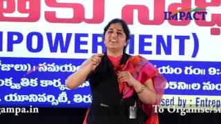 Padma Pothukuchi IMPACT Tirupati 2017