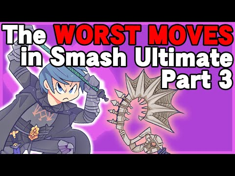 Every Character's WORST move! part 3/3 - Super Smash Bros. Ultimate