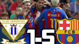 Barcelona 5-1 Leganes Hot Goal Messi