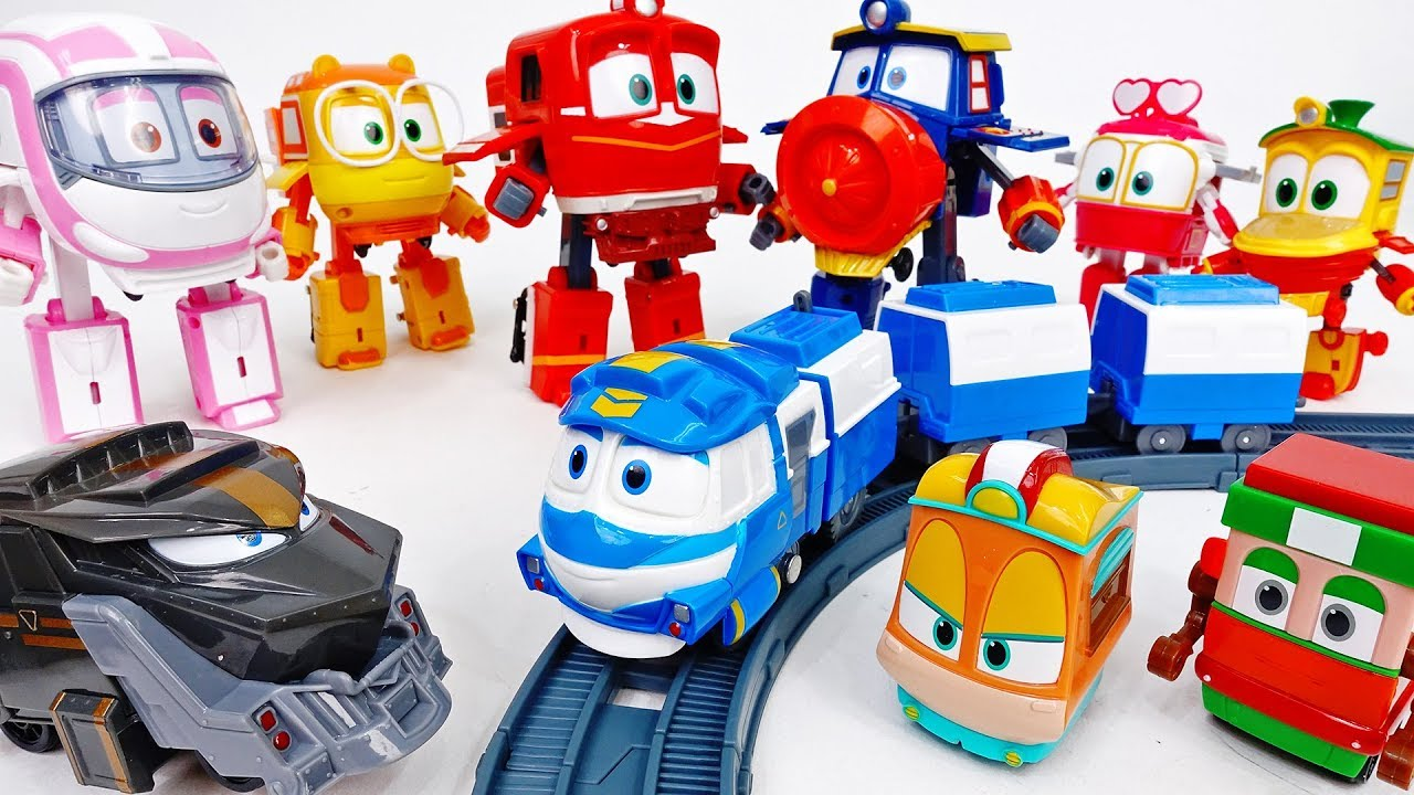 Wake Up Duke~! Here Comes Robot Train 2 Choo-Choo - ToyMart TV