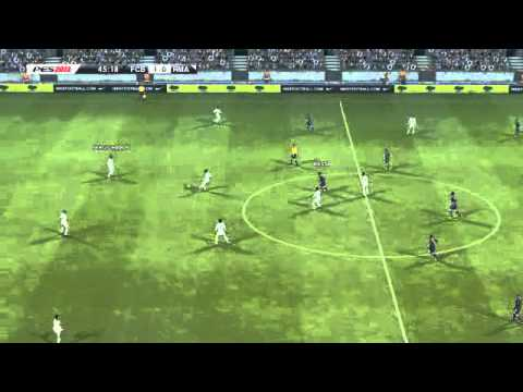 (พากย์บอล) Bacelona Vs Real Madrid [PES 13] [CPU Vs CPU]