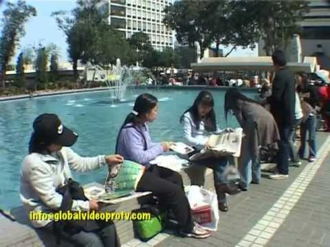 THOUSANDS OF HOMESICK FILIPINO OVERSEAS CONTRACT WORKERS IN HONG KONG