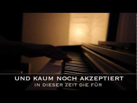 Draussen vor der Tür - Die toten Hosen - Piano Karaoke