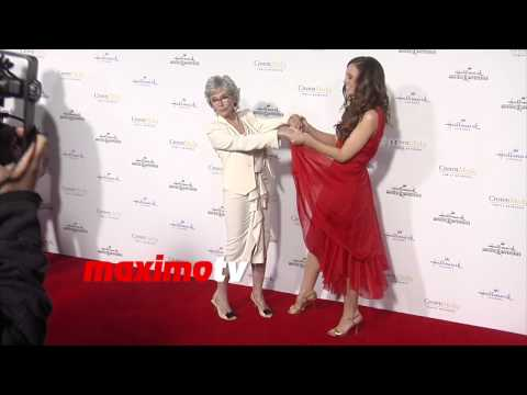 Rita Moreno & Rachel Boston  Hallmark TCA Winter 2015  Red Carpet Arrivals  MaximoTV Broll