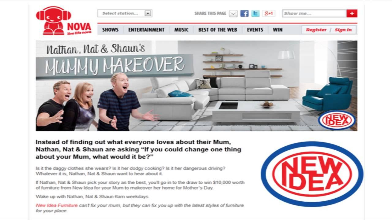 New Idea Furniture - Steal A Bargain Campaign - YouTube