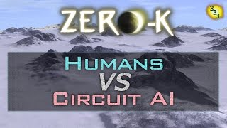 2017/01/23: Humans vs CircuitAI on Arctic Plains - Zero-K