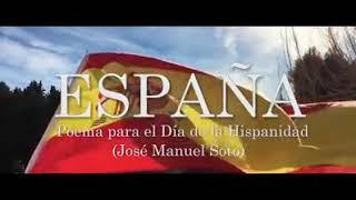 ESPAÑA. Poema para el día de la Hispanidad. José Manuel Soto