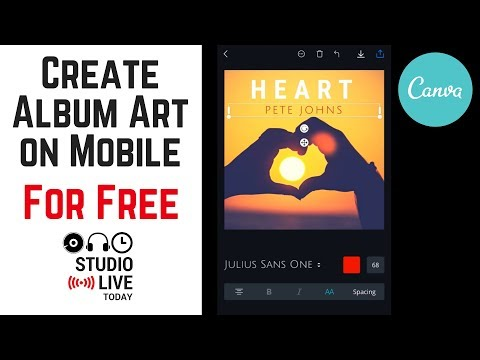 How To Create Free Album Art On IPhone/iPad Using Canva