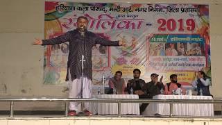 हाकले का चुटकुला Haryanvi Comedy by Mahaveer Guddu in holi fest 2019 Rangshala Rohtak