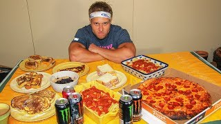 Michael Phelps Diet Challenge (12,000+ Calories)
