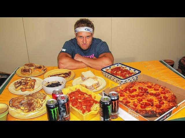 Dieta de un nadador