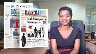 Magazetini leo juni 20, 2018: mali kuwaponza wabunge, la liga kuleta neema tanzania