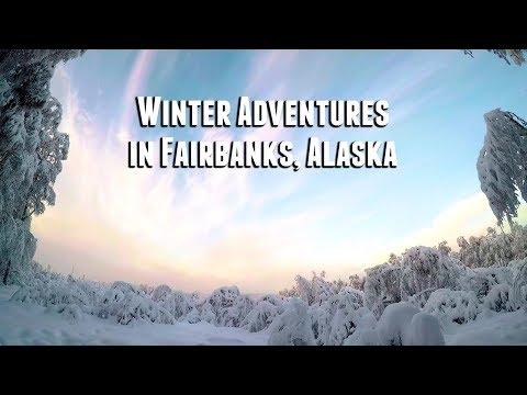 Winter Adventures In Fairbanks, Alaska