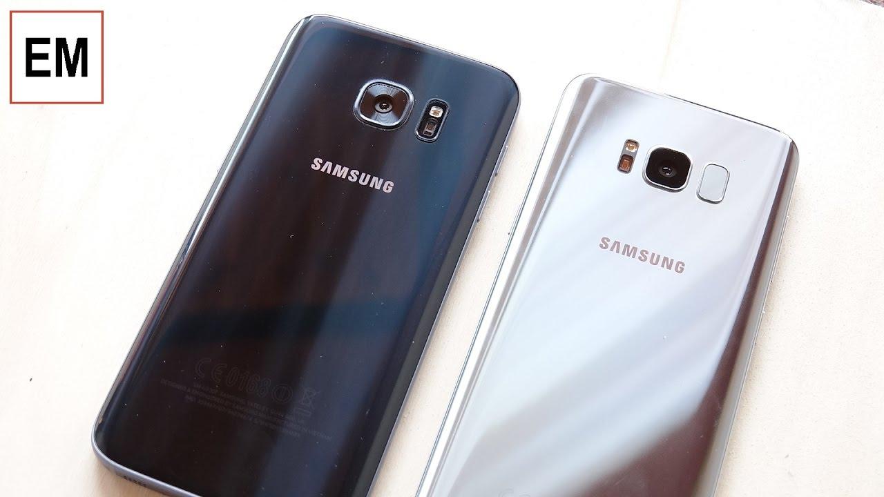 Samsung Galaxy S8 vs Galaxy S7 ita da EsperienzaMobile ...