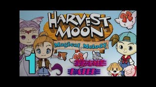 Harvest Moon: Magical Melody Playthrough (No Commentary) Session 1