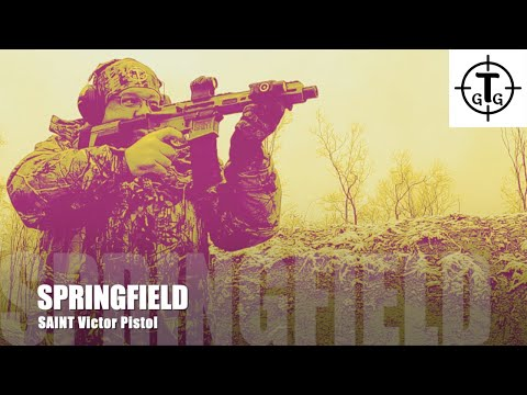 """Springfield SAINT Victor 7.5"""" Pistol Review Your Videos on VIRAL CHOP VIDEOS"""