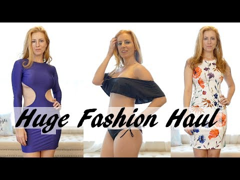 ASMR Try On Fashion Haul with Adrienne | 3Dio Ear to Ear Whispers, Swimwear, Dresses & Jewelry