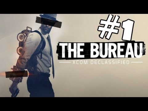 The Bureau: XCOM Declassified Walkthrough Part 1 Gameplay Review Lets Play Playthrough PC PS3