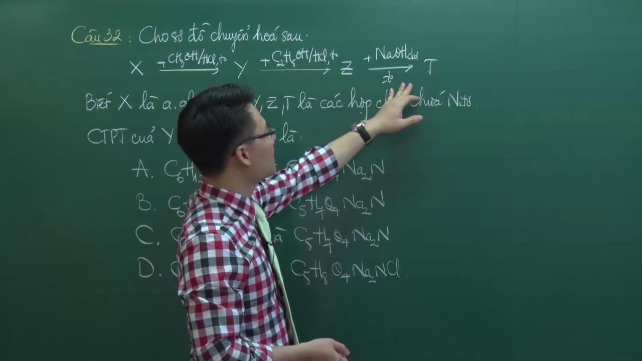 HDG đề thi thử nghiệm môn Hóa (P1) – Lớp 12 – Thầy Vũ Khắc Ngọc