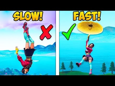 *NEW META* HOW TO LAND FAST IN SEASON 9! - Fortnite Funny Fails and WTF Moments! #554