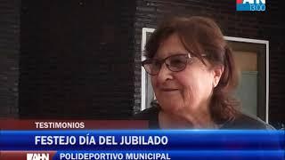 20 DE SEPTIEMBRE DIA DEL JUBILADO   TESTIMONIO DE JUBILADOS EN SU DIA EN POLIDEPORTIVO MUNICIPAL