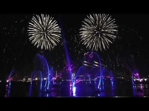 Fire Works Dubai Creek 2020