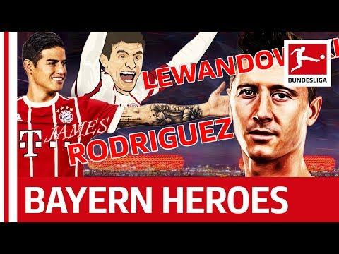 FC Bayern München's Super-Sixpack