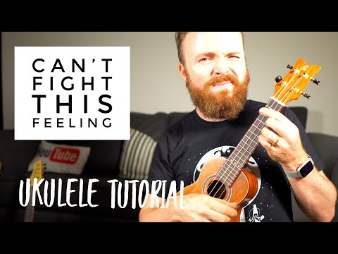 Can't Fight This Feeling - REO Speedwagon (UKULELE TUTORIAL) thumbnail